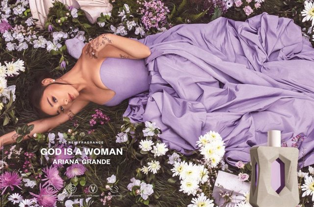 Grammy Award Winning and Multi-Platinum Artist Ariana Grande Enters the Clean Beauty Category with the Launch of God is a Woman, a New Fragrance Inspired by the Power of Nature (PRNewsfoto/LUXE Brands)