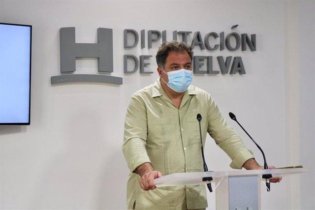 El portavoz del Grupo Popular en la Diputación de Huelva, Juan Carlos Duarte.