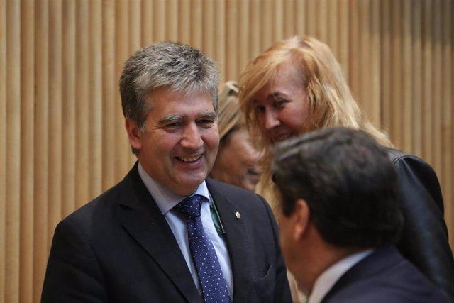 Archivo - El senador del PP, Ignacio Cosidó, portavoz del partido en el Senado.