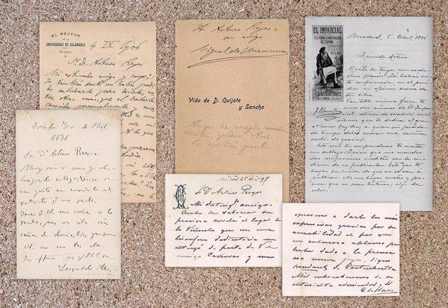 Archivo - Cartas de Arturo Reyes