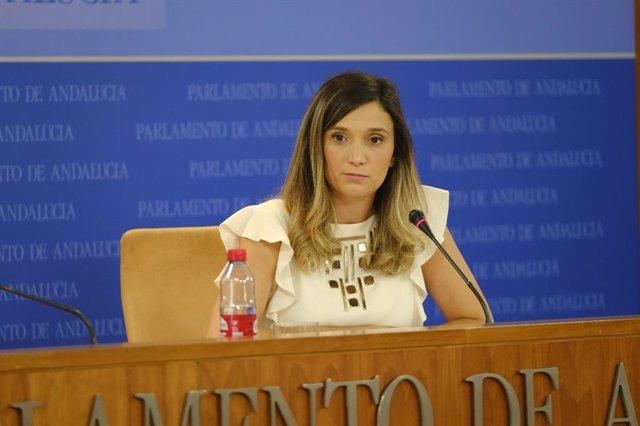 La portavoz adjunta del PSOE-A en el Parlamento andaluz, María Márquez