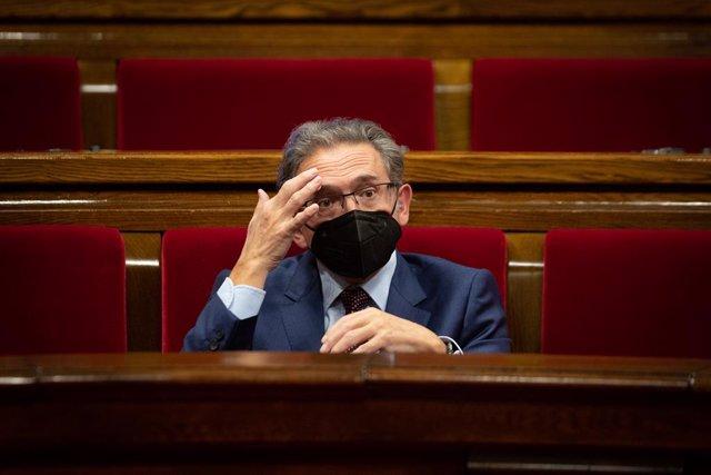 Arxiu - El conseller d'Economia i Hisenda de la Generalitat, Jaume Giró