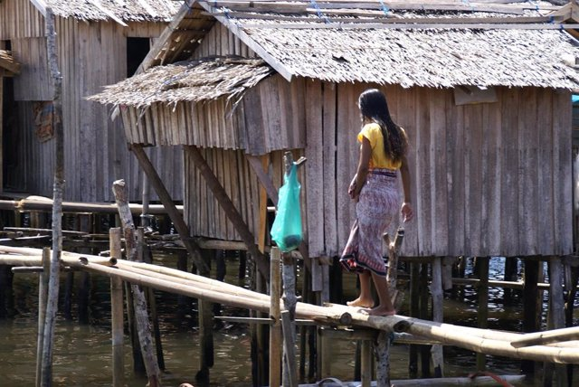 Mujer en Filipinas