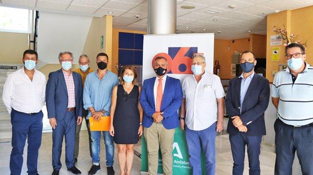 La Empresa Pública de Emergencias Sanitarias celebra su 48 sesión de Comisión Consultiva en Málaga