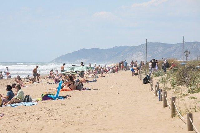 Archivo - Playa de Gavà (Barcelona) en una imagen de archivo.