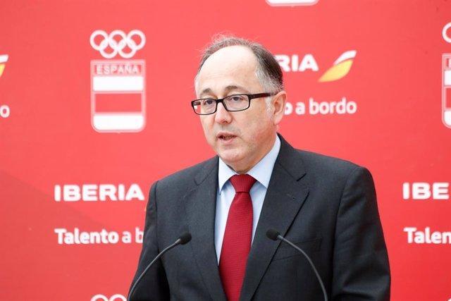Archivo - Luis Gallego, consejero delegado de IAG