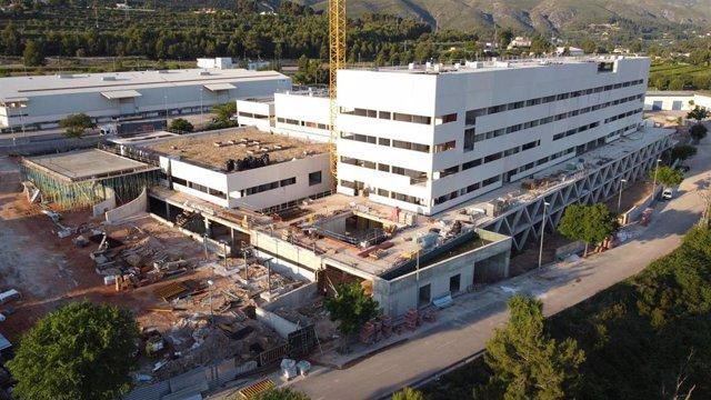 Obras hospital de Ontinyent (Valencia)