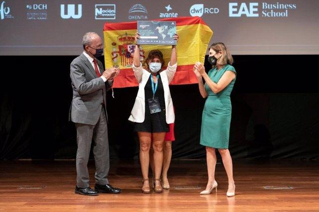 Checktobuild recoge el premio Mundial de Emprendimiento de España 2021