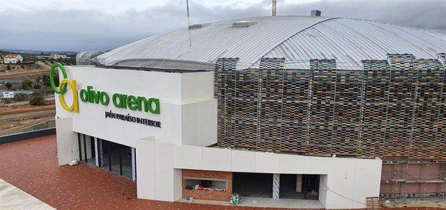 Archivo - Exterior del Palacio de Deportes Olivo Arena.
