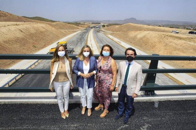 Inicio de las obras en el nuevo tramo de la Autovía del Almanzora, en Almería