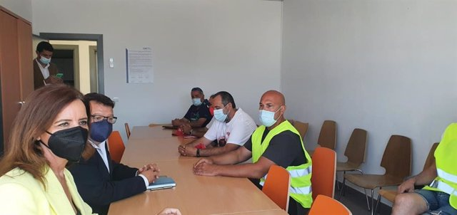 La Consejera De Empleo E Industria, Ana Carlota Amigo, Ha Mantenido Este Viernes Una Reunión Con La Dirección De LM Wind Power Y Su Comité De Empresa.