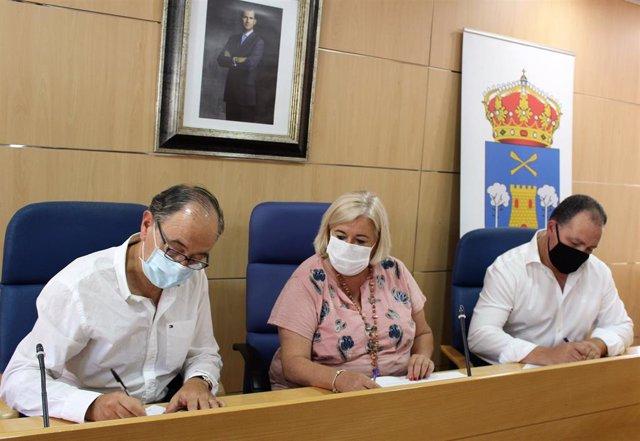 Acuerdo entre Junta y Ayuntamiento de Aljaraque para la construcción de un nuevo consultorio.
