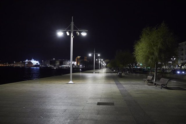 Archivo - Calle de Santander vacía