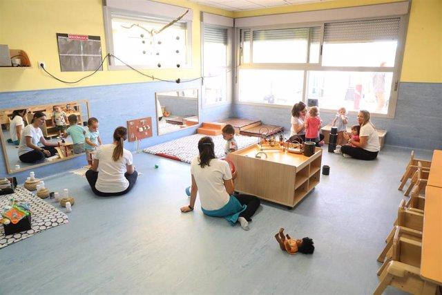 Archivo - Escuela infantil de Madrid.