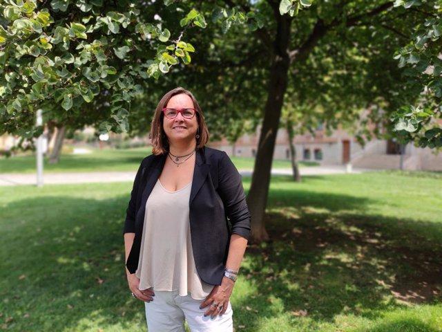 La directora gerent de l'ICS Yolanda Lejardi
