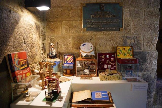 El Museo del Juguete, en el Pazo de Liñares de Lalín.