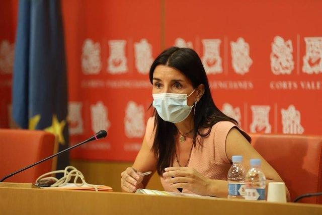 La síndica de Ciudadanos (Cs) en Les Corts Valencianes, Ruth Merino