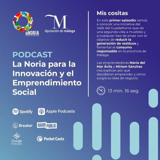 Cartel podcast La Noria
