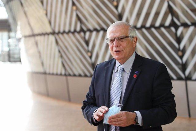Archivo - El Alto Representante de la UE para Política Exterior y Seguridad Común, Josep Borrell
