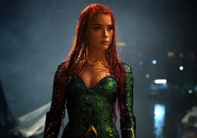 Archivo - Amber Heard en Aquaman