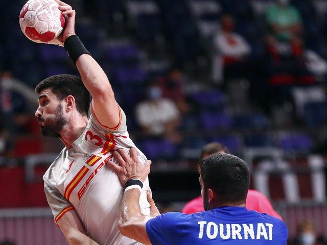 España - Francia, selección balonmano, Hispanos