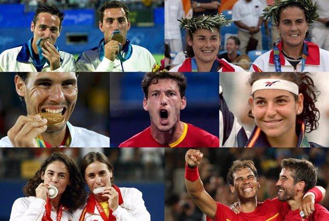 Algunos de los medallistas españoles que han ganado metal en los Juegos Olímpicos desde Seúl 1988