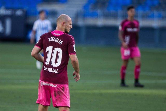 Archivo - Roman Zozulya, en su etapa como jugador del Albacete Balompié