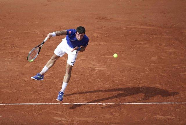 Archivo - El tenista español Pedro Martínez