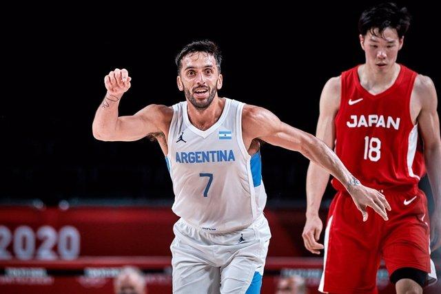 Campazzo en el Japón - Argentina