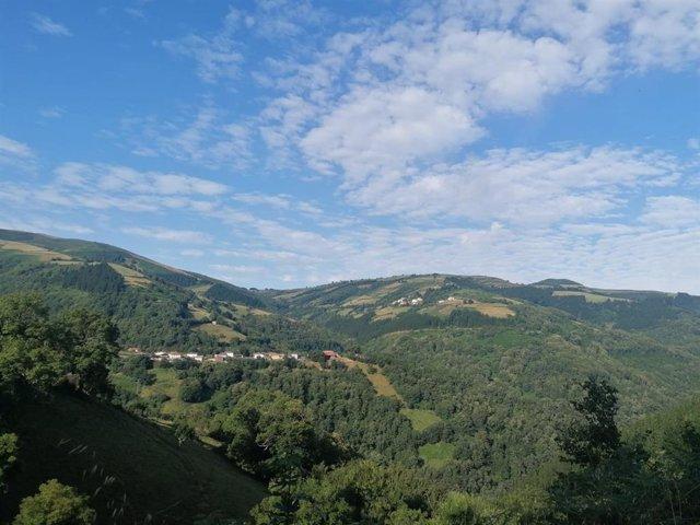 Zona rural de Cangas del Narcea.