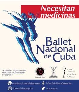 SOS MEDICINAS PARA EL BALLET NACIONAL DE CUBA