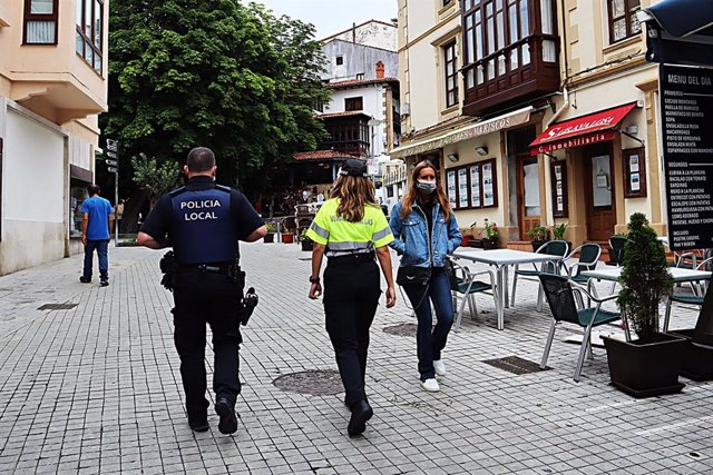 Policía Local en Comillas