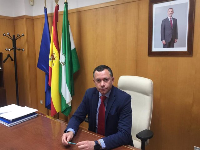 Archivo - El delegado de Desarrollo Sostenible en de la Junta en Huelva, José Enrique Borrallo.