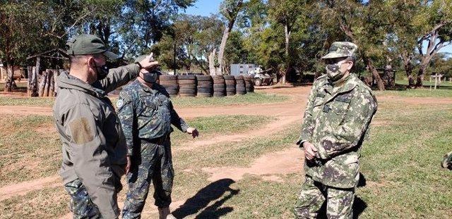 Archivo - Militares de Paraguay