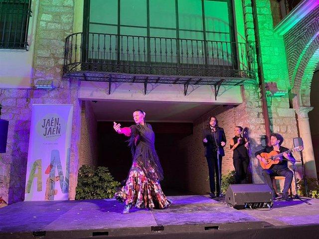 Una sesión de las veladas flamencas 'Jaén Auténtica' en una imagen de archivo.