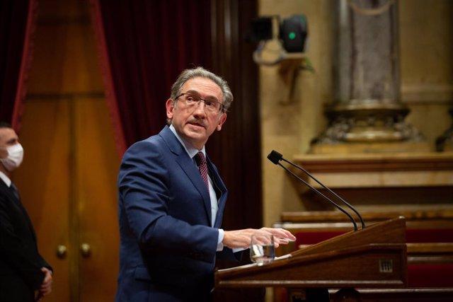 El conseller d'Economia i Hisenda de la Generalitat, Jaume Giró