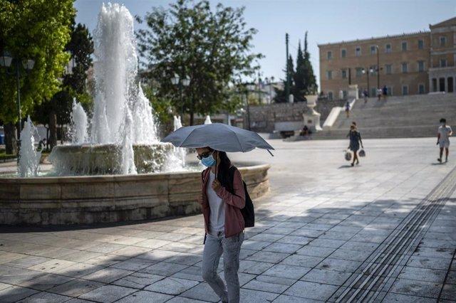 Ola de calor en Grecia
