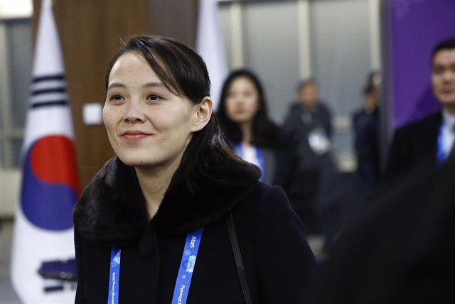 Archivo - Kim Yo Jong, la hermana del líder de Corea del Norte, Kim Jong Un
