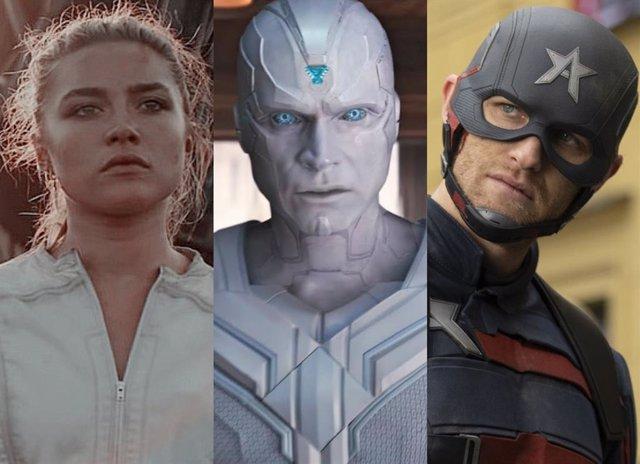 Tres posibles integrantes de los Vengadores Oscuros