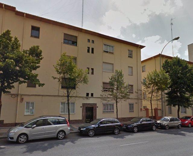 Vivienda a subasta en el paseo de la Estación, de Salamanca.