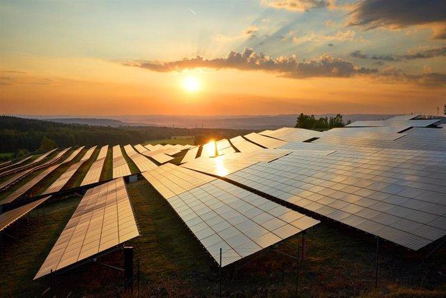 Archivo - Planta fotovoltaica Galp