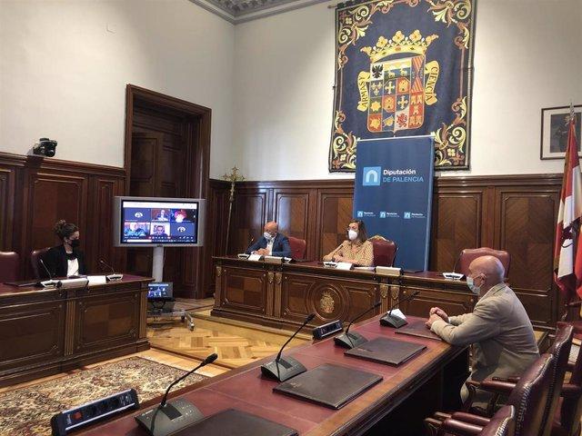 Presentación del primer Patio Federal Argentino que se inaugurará el 17 de agosto en Cervatos de la Cueza.