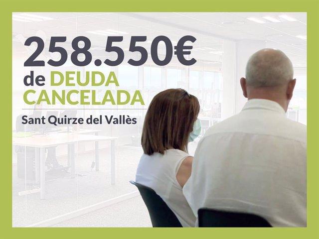 Josep y María Nieves, exonerados con Repara Tu Deuda