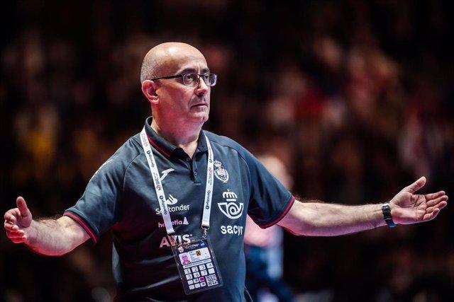 Archivo - Jordi Ribera, seleccionador español de balonmano.
