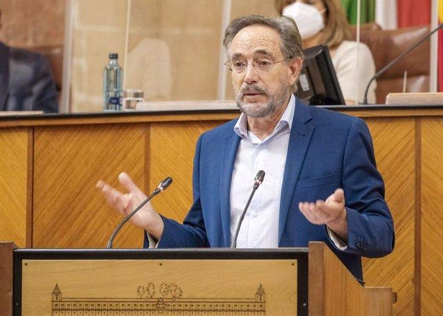 Archivo - El parlamentario andaluz del PSOE de Jaén Felipe López.
