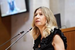 La portavoz adjunta del PP en las Cortes de Aragón, Mar Vaquero.
