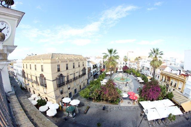 Archivo - Plaza del Cabildo en Sanlúcar de Barrameda