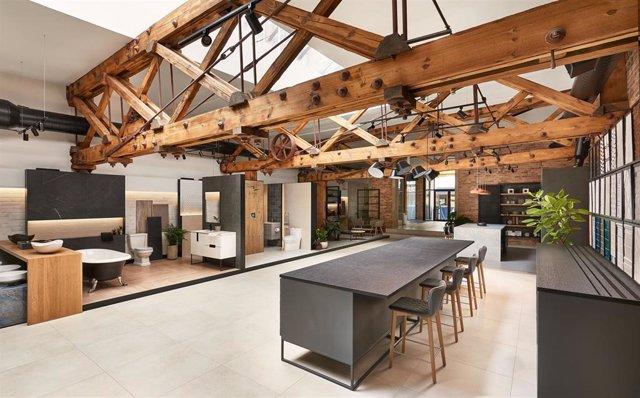 Showroom de la división de cerámica plana de Roca Group en Chicago (EEUU)