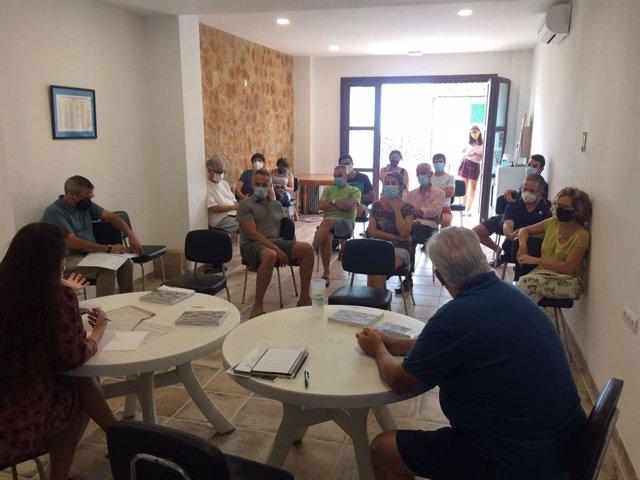 El Consell de Mallorca inicia un taller para recuperar fincas de Banyalbufar y su producción agrícola.