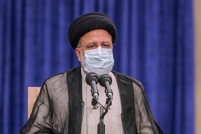 Archivo - El presidente electo de Irán, Ebrahim Raisi